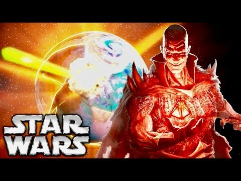 Why Darth Bane Would've NEVER Destroyed Alderaan Like Darth Sidious
