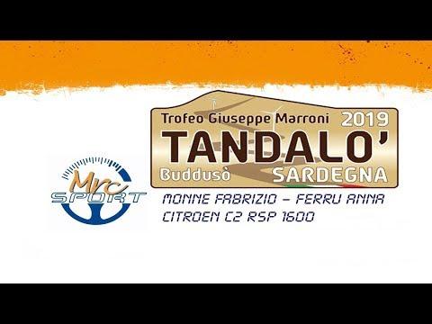 Cronoscalata Tandalò 2019 - Monne/Ferru - MRC Sport