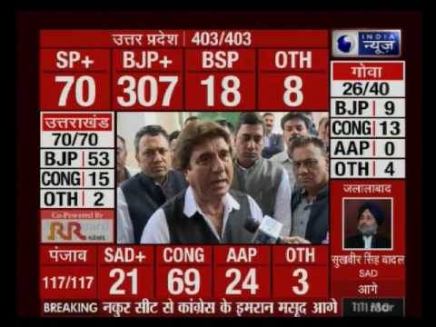 Raj Babbar speaks exclusively on India News over UP elections 2017