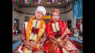 Nepali Wedding Ceremony UK (Sonnu and Sushant) by AYG Studios