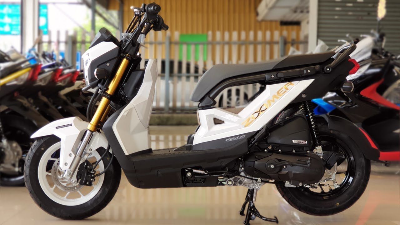 2019 new honda zoomer x 110cc youtube. Black Bedroom Furniture Sets. Home Design Ideas