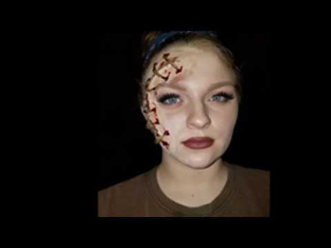 How to create a stitched face using SFX makeup