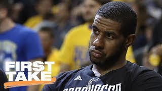 Stephen A. Smith: LaMarcus Aldridge Wants Out Of Spurs In 'Worst Way' | First Take | June 22, 2017