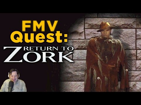 Justin Plays Return to Zork — FMV QUEST, Episode 1