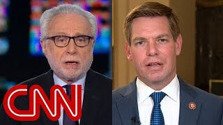 Blitzer presses Swalwell on past comments about collusion