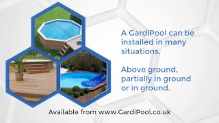 Gardipool - Above Ground Wooden Swimming Pools