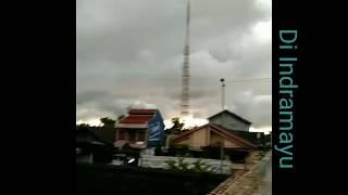 SUBHANALLAH ||Suasana penampakan awan mendung tebal menghitam