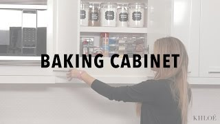 KHLO-C-D: Not to Brag, But My Baking Cabinet is #Goals