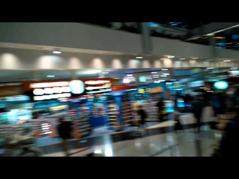 Dubai airport duty free store area
