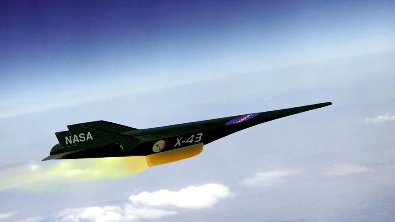 The Fastest Jet In The World 11 230 kmh NASA X43 YouTube