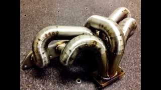 my custom pie cuts turbo exhaust manifold volvo t5