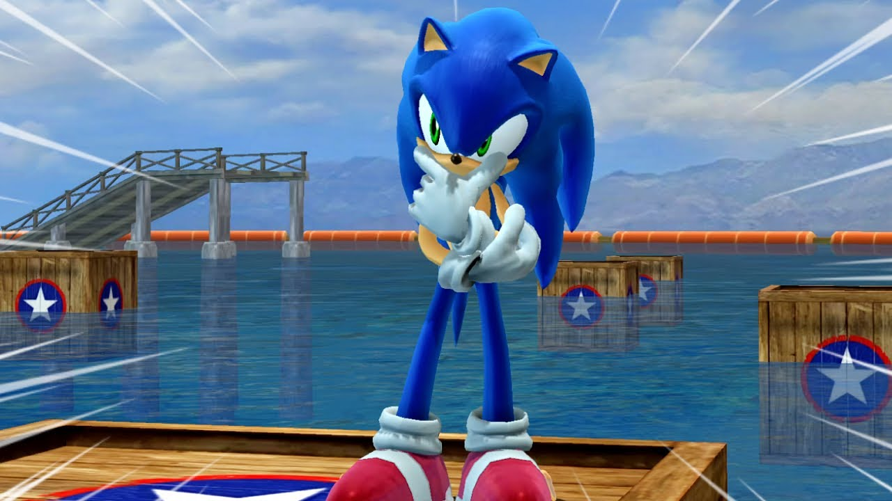 Sonic 06: Super Hard Wave Ocean Mod!