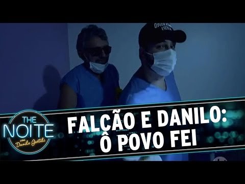 The Noite (23/06/16) - Falcão e Danilo: Ô Povo Fei