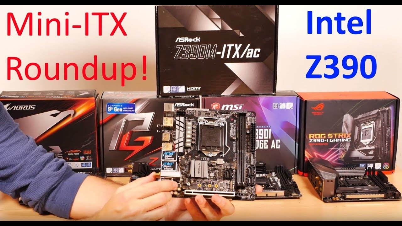 Every Intel Z390 MINI-ITX motherboard REVIEWED!