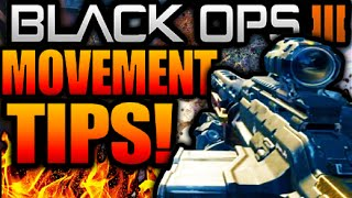 Call of Duty Black Ops 3 MOVEMENT TIPS & TRICKS TUTORIAL : BO3 How to Wall-Run/Thrust Jump Mechanics
