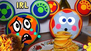Oh Toodles Pancakes GONE WRONG IRL! PLUSH In Real Life (Disney Junior)