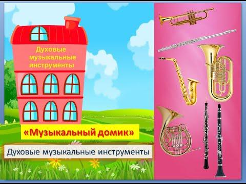 """Игра """"Музыкальный домик"""" (Духовые музыкальные инструменты)"""