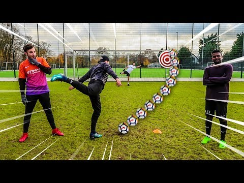 CALL OUT PENALTIES FUßBALL CHALLENGE !!