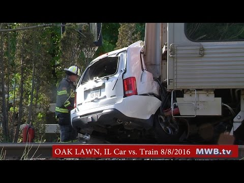 OAK LAWN, IL - Fatal Car vs. Metra Train 8/8/2016