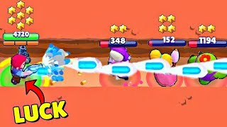 *LUCKIEST* PLAYER EVER in Brawl Stars! Wins & Fails #35