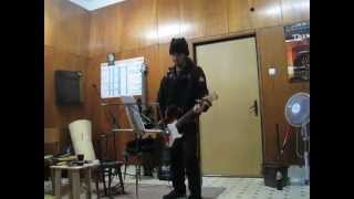 rehearsal - On the coldest winter night / Kamelot cover