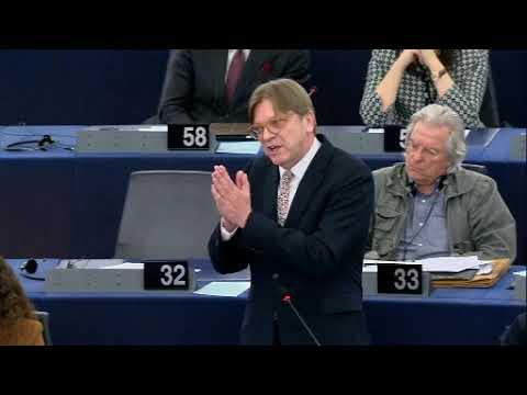 Guy Verhofstadt 17 Apr 2018 plenary speech on the Future of Europe
