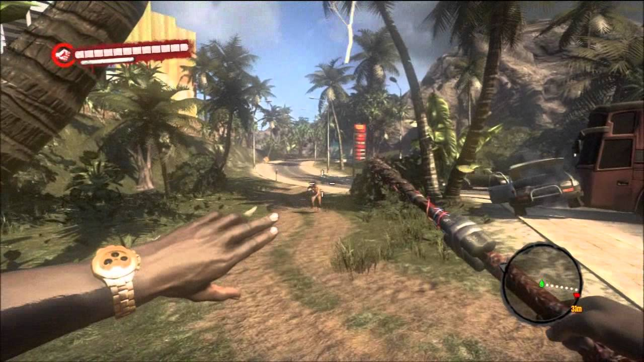 how to get a gun in dead island