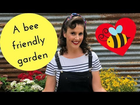 Grow a bee friendly garden // Bee Attracting Plants // The Gardenettes
