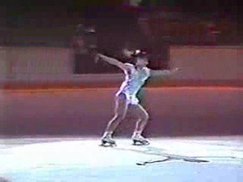 Midori Ito 1988 Calgary Olympics Exhibition