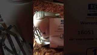 Kent Hand Blender unboxed