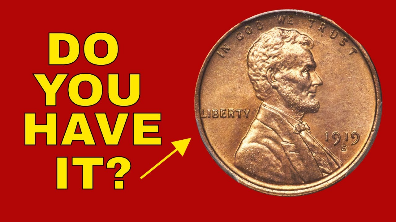 Wheat Penny Worth Money 1919 S Penny You Should Look For Youtube