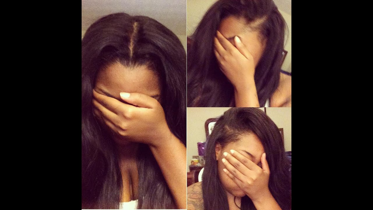 Show N Tell My New Sew In Three Part Flip Over Method
