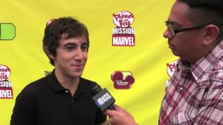 Phineas and Ferb Mission Marvel with Vincent Martella at D23 Expo