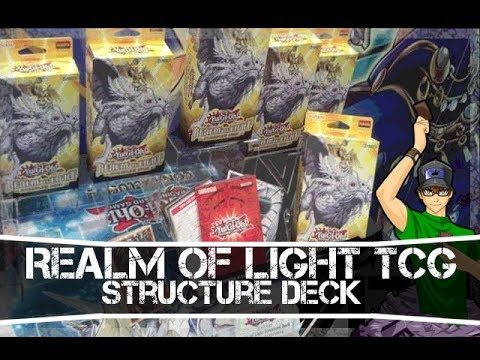 Yugioh Realm of Light Structure Deck TCG - Lightsworn Support