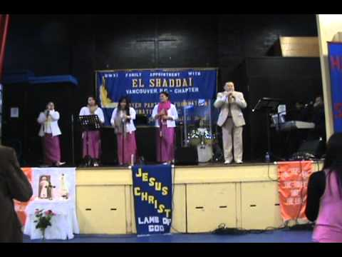 El Shaddai Vancouver Chapter Gospel Choir (Nov 18, 2012)
