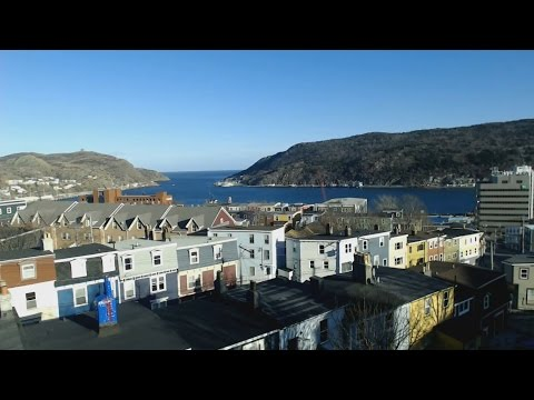 The Narrows St. John's Newfoundland - Streamed live on Apr 15, 2016