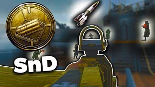 COD WW2: WORLDs FIRST SEARCH and DESTROY V2 ROCKET! Call of Duty: WWII SnD Nuke Multiplayer Gameplay