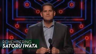 Nintendo's Reggie Fils-Aime Remembers Satoru Iwata - The Game Awards 2015