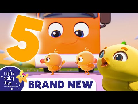 Five Little Ducks Song + More Nursery Rhymes & Kids Songs -ABCs and 123s!  Little Baby Bum