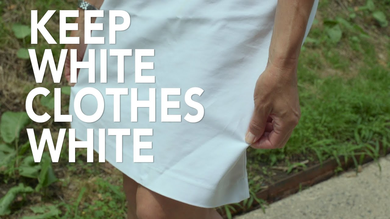 Smart cleaning tip 3 keep white clothes white consumer for Mustard stain on white shirt