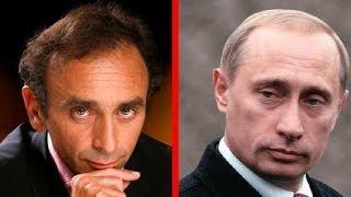 Eric Zemmour soutient Poutine sur la Crimée et l'Ukraine: