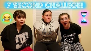 7 SECOND CHALLENGE! (With no Arms!)