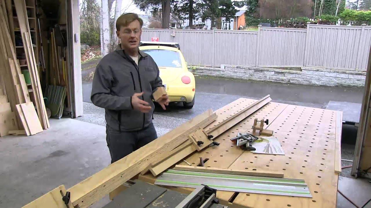 Cross Cut Jig for Festool TS55 - YouTube
