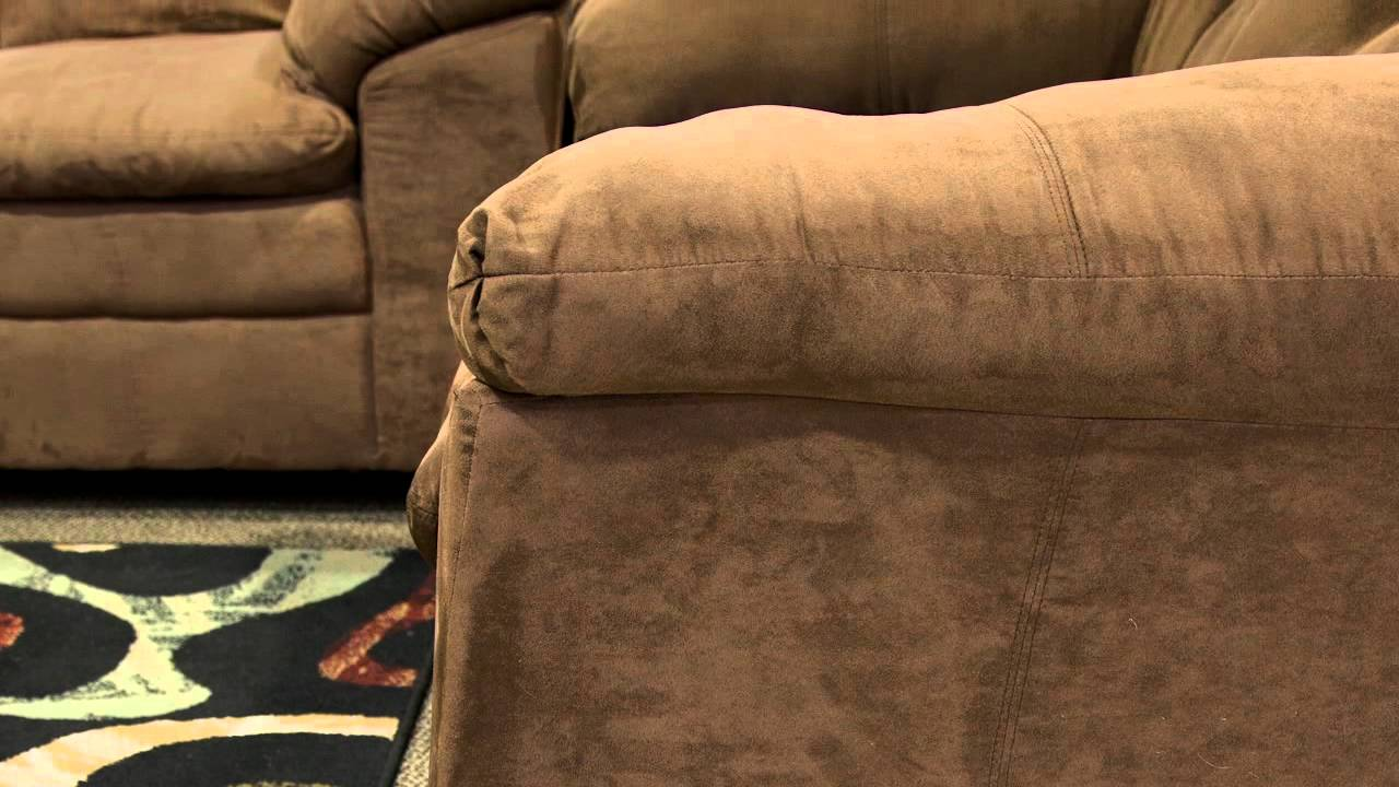 United Furniture Luna Chocolate Sofa Loveseat Youtube
