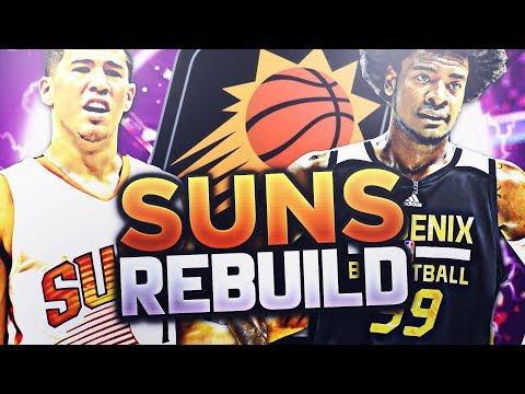 BEST DEFENSIVE TEAM EVER!?! SUNS REBUILD!! NBA 2K18