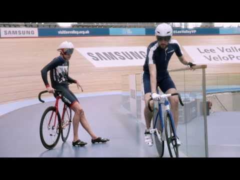 Samsung | School of Rio: Cycling with Sir Bradley Wiggins & Becky James