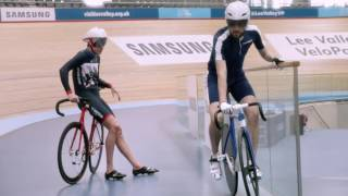 Samsung School of Rio – Cycling with Sir Bradley Wiggins & Becky James