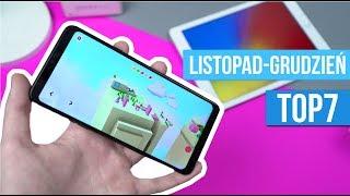 TOP 7 Aplikacje i Gry na ANDROIDA  [Listopad-Grudzień 2018] / Mobileo [PL]