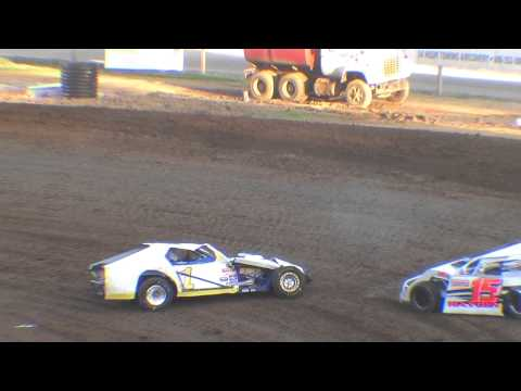 5 3 14 Chad Nolte modified flip at Lincoln Park Speedway