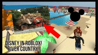 Going to Disney in Roblox (River Country) | Part 2 | LuckyAJ